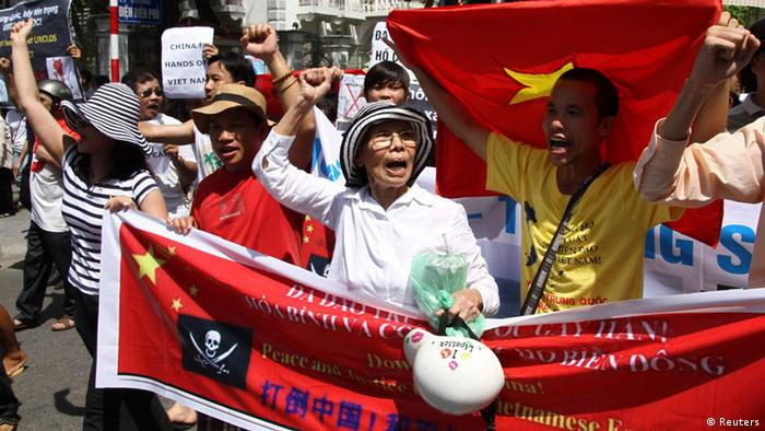 Anti China Protest Vietnam