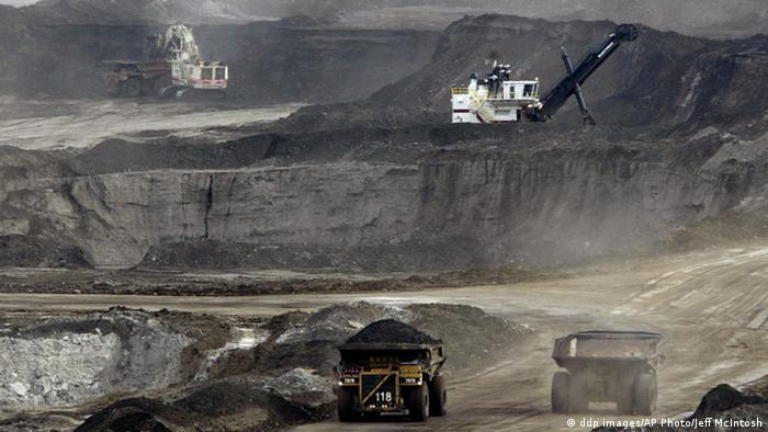 Oil sands development