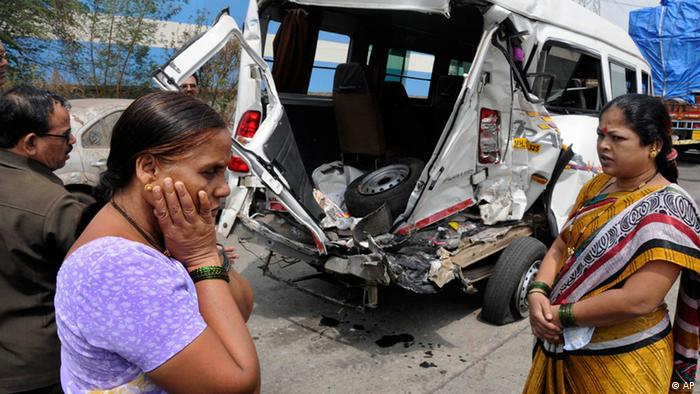 Indien Pune Bombenexplosion (AP)