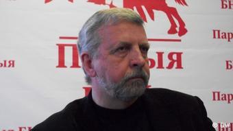 Александр Милинкевич, экс-кандидат в президенты Беларуси