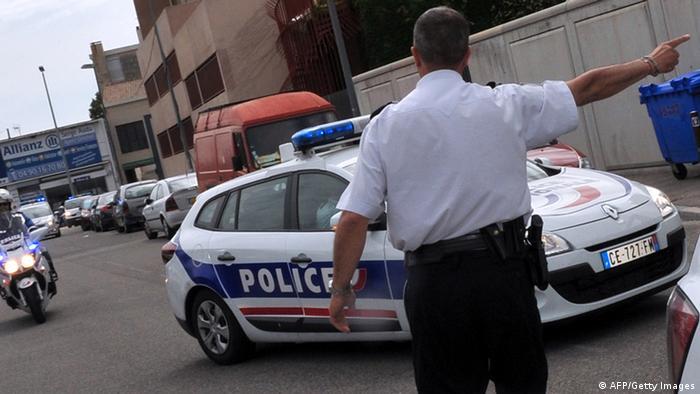 A police car in Spain