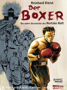 Cover of The Boxer by Reinhard Kleist