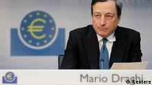 Mario Draghi Pressekonferenz Frankfurt