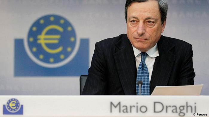 Draghi at the press conference