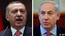 Symbolbild Erdogan Netanjahu