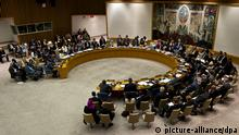 UN-Sicherheitsrat in New York (picture-alliance/dpa)