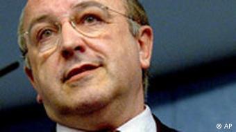 Der spanische EU-Kommissar für Wirtschaft und Finanzen Joaquin Almunia