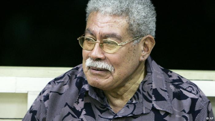 Former Fijian Prime Minister Laisenia Qarase attends a kava (traditional mild narcotic drink) ceremony at his home in Suva Tuesday, Dec. 5, 2006. Military commander Frank Bainimarama said he had invoked special powers under the constitution to assume some powers of the president, and was using them to dismiss Prime Minister Qarase from office and appoint an interim replacement. (ddp images/AP Photo/Rick Rycroft)