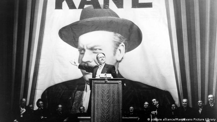Filmszene Citizen Cane Orson Welles Charles Foster Kane