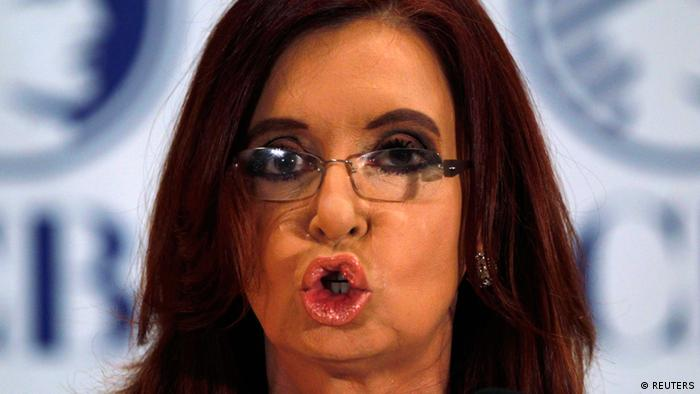 Kirchner Cristina Fernandez de Präsidentin Argentinien