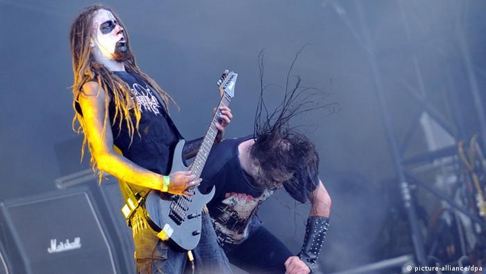 Festival Wacken Heavy Metal August 2012 Band Endstille