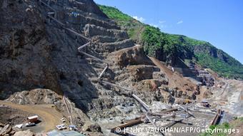 Staudamm-Projekt Gibe III im Süden Äthipiens (Foto: JENNY VAUGHAN/AFP/GettyImages)