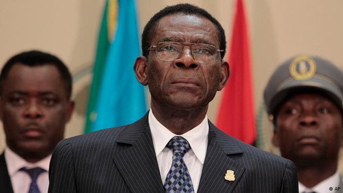 Teodoro Obiang Nguema of Equatorial Guinea