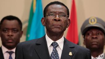 Teodoro Obiang Nguema Präsident von Äquatorial Guinea
