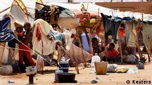 Krise im Norden von Mali Flüchtlinge