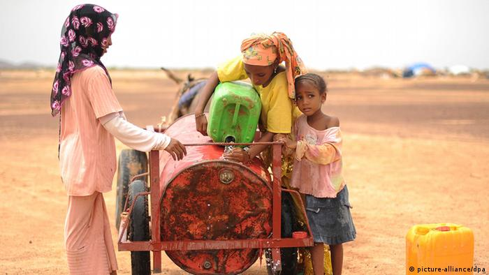 Refugees in Burkina Faso. Photo credit: picture-alliance/dpa