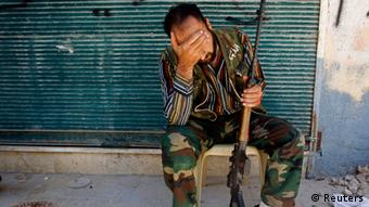 Free Syrian Army fighter (REUTERS/Goran Tomasevic)