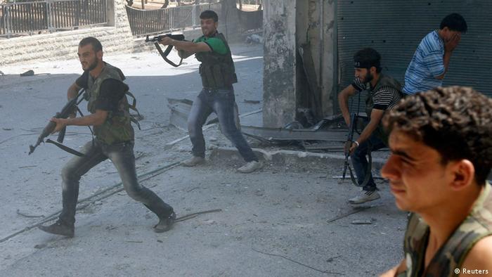 Syrien Aleppo Kämpfe