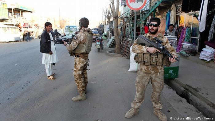 New Zealand soldiers in Afghanistan