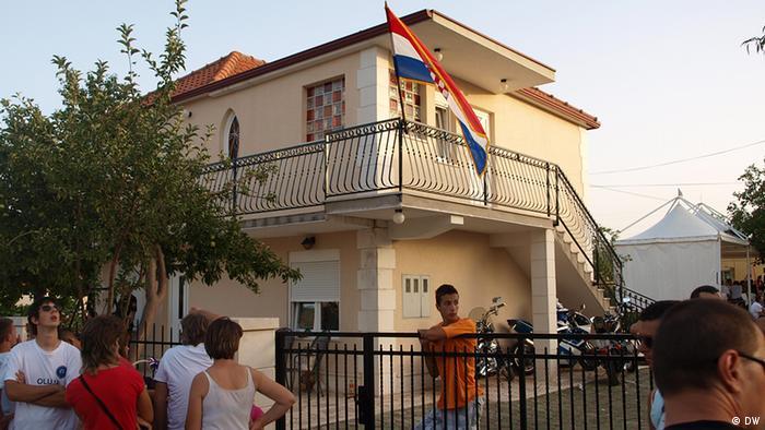 Kroatien Der kroatische Nationalfeiertag in Cavoglave