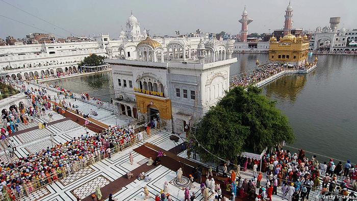 Indien Goldener Tempel Amritsar