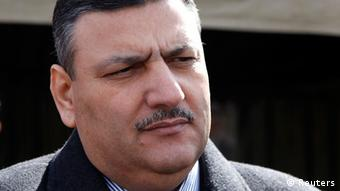 Governor of al-Qunatara city and former agriculture minister Riyad Hijab is seen in al-Qunatara in this February 15, 2011 file photograph. Syrian Prime Minister Riyad Hijab has been sacked, Syrian television reported on August 6, 2012. Syrian President Bashar al-Assad appointed Hijab, a former agriculture minister, as prime minister in June following a parliamentary election in May which authorities said was a step towards political reform but which opponents dismissed as a sham. REUTERS/Khaled al-Hariri/Files (SYRIA - Tags: POLITICS CIVIL UNREST HEADSHOT)