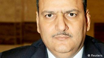 Syria's former agriculture minister Riyad Hijab is seen in this file handout photograph distributed by Syrian News Agency (SANA) on June 6, 2012.