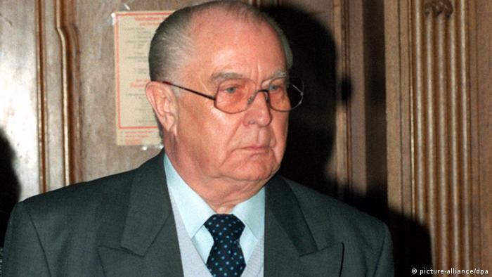 Er war bei vielen Freikäufen involviert: DDR-Unterhändler Wolfgang Vogel (Foto: dpa)
