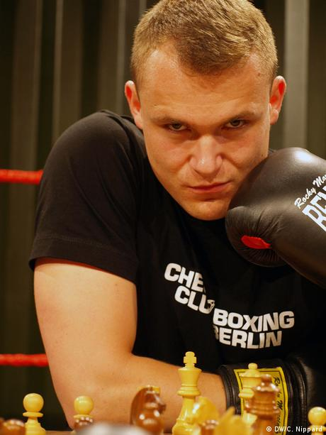 The German Chessboxing Champion Nils Becker