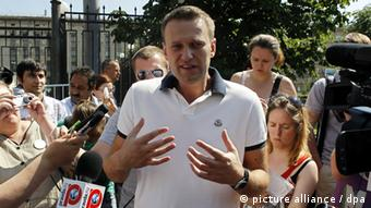 Anti Korruption Blogger Alexei Navalny