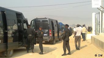 Polizei löst Demonstration in Lubango auf