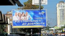 Ukraine Parlamentswahlen Partei Region