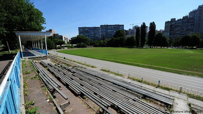 Стадион ''Старт'' в Киеве. Июнь 2012 года