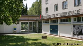 The former Marienfelde resettlement center for East German refugees in Berlin (ENM - Andreas Tauber)