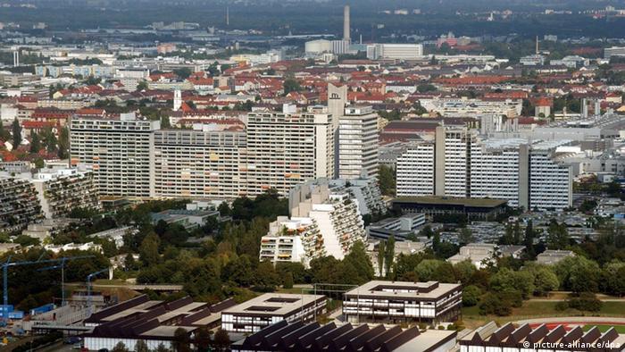 ساختمان محل گروگانگیری در دهکدهی المپیک مونیخ