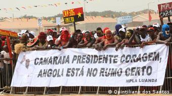 Abertura da campanha do MPLA de 2012 em Viana