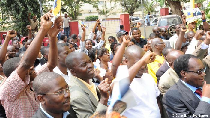 Sieg der MPLA erwartet