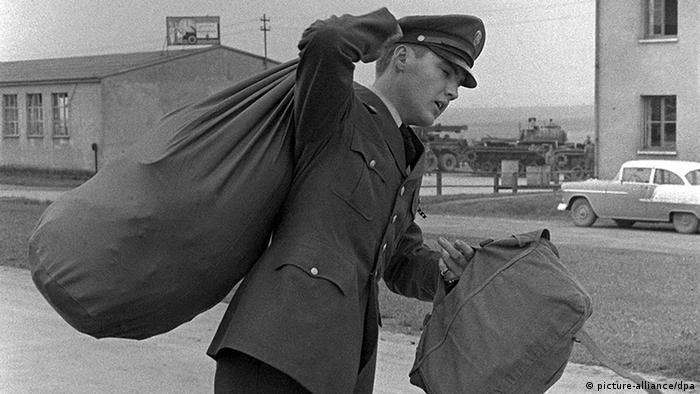 Najsłynniejszy z amerykańskich żołnierzy w Niemczech: Elvis Presley służył 17 miesięcy w nieistniejącej już bazie we Friedbergu