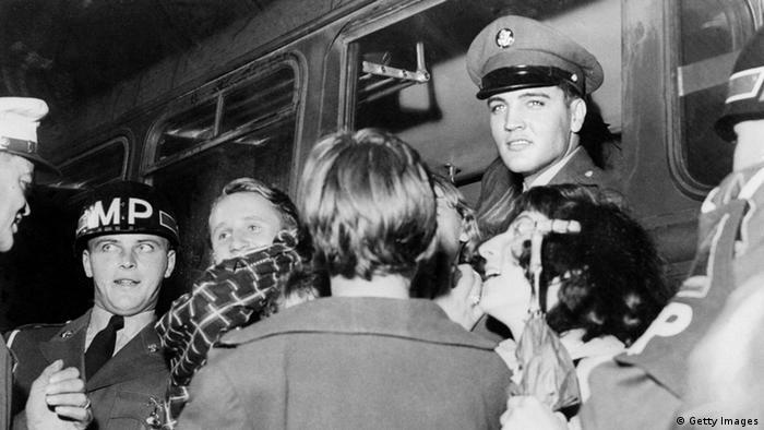 Elvis Presley como soldado na Alemanha