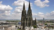 Cologne Cathedral in the city center of Cologne- Photo: Oliver Berg +++(c) dpa - Report+++
