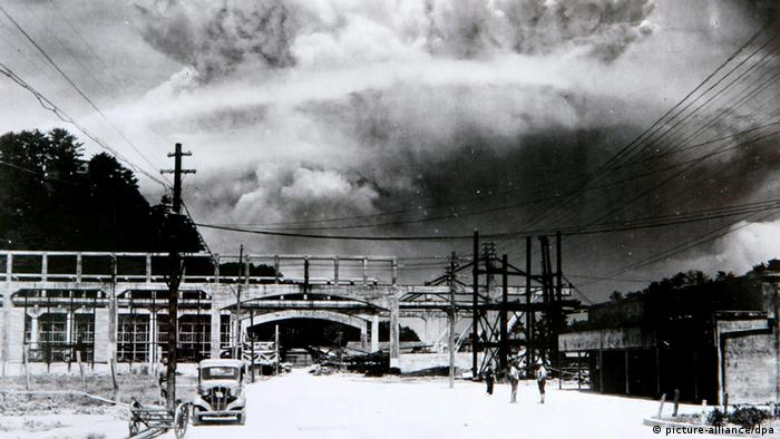 This 1945 file photo shows destruction from a U.S. atomic bomb in Nagasaki, Japan. In the background are the remains of the Mitsubishi arms factory and a reinforced concrete school building at the foot of the hills. It seems as if violence is everywhere. Yet, historically, we've never had it this peaceful. That's the thesis of three new books, including one by Harvard psychologist Steven Pinker. Statistics reveal dramatic reductions in war deaths, family violence, racism, rape, murder and all sorts of mayhem. (AP Photo/U.S. Army)