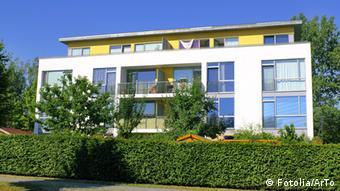 Новый многоквартирный дом в восточной части Берлина