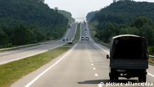 Ukraine - Autobahn nahe Kiew