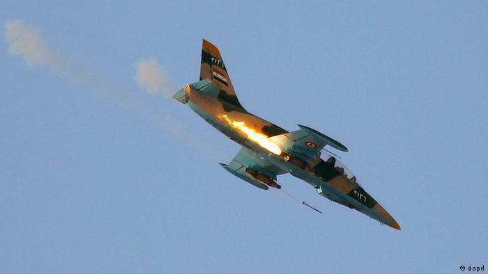 سرنگونی جنگنده میگ نیروی هوایی سوریه توسط رزمندگان مخالف رژیم