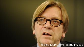 Verhofstadt Photo: ERIC LALMAND/AFP/Getty Images