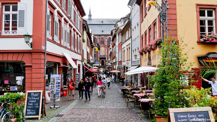 Bildergalerie Stadtbilder Heidelberg