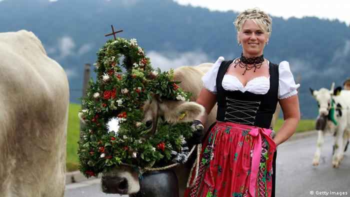 Dirndl Trachtenmode (Getty Images)