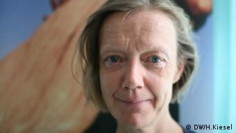 Marita Wiggerthale von der Entwicklungsorganisation Oxfam (Foto: DW)