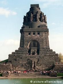 Das völkerschlachtdenkmal von leipzig copyright picture alliance