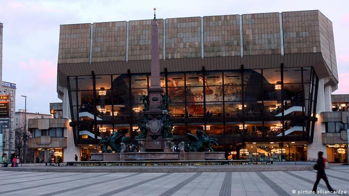 Deutschland Leipzig Gewandhaus